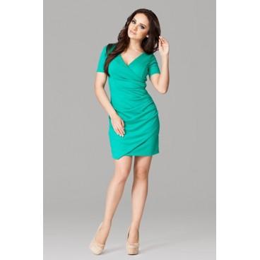 5e2fd101c79e Dámske šaty Figl 106 zelené