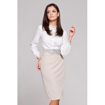 626999391ba2 Dámska košeľa Figl 157 biela - výprodej