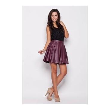 Dámská sukně Katrus 069 vínová výpredaj veľkosť M