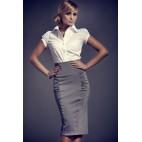 Dámska sukňa Figl 44 sivá