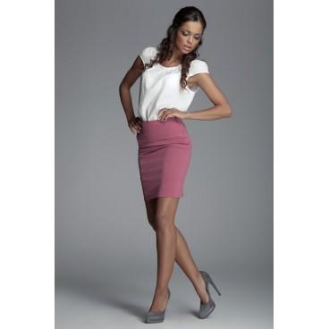 Dámska sukňa Figl 84 ružová  - výprodej