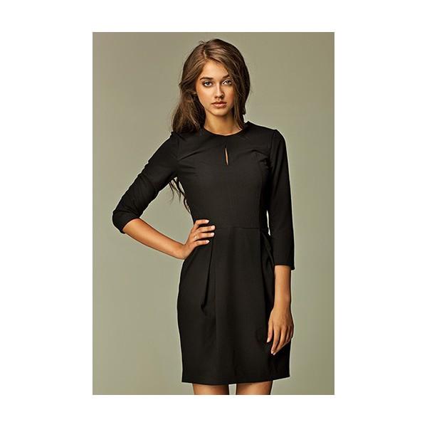 Dámske šaty Nife S32 čierne. Zdieľať na Facebooku ... 282b11897a7